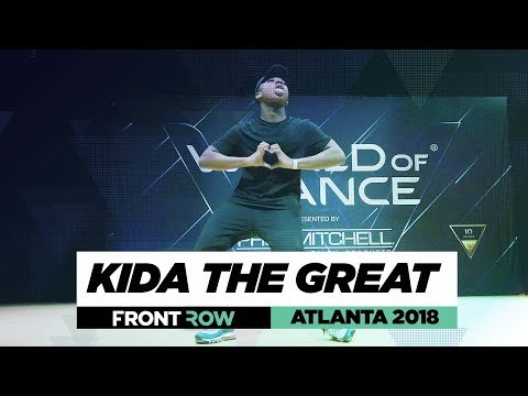 Kida The Great | FrontRow | World of Dance Atlanta 2018 | #WODATL18