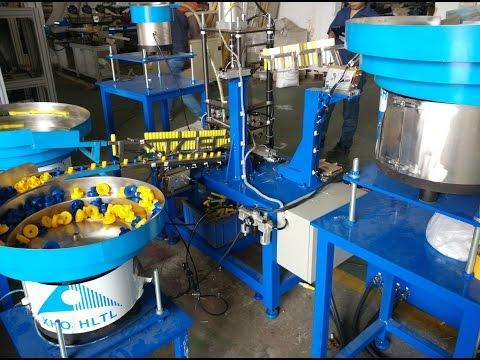 Paint Roller Inner Plastic Fittings Inserting Machine