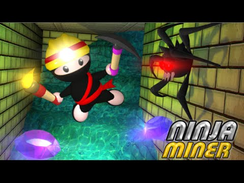 Ninja Miner Full Gameplay Walkthrough