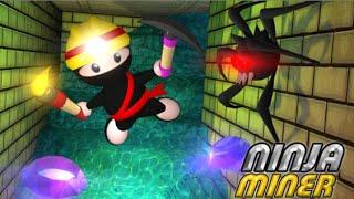 Ninja Miner Full Gameplay Walkthrough
