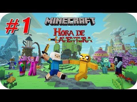 Minecraft (Mini Serie) Hora de Aventuras - Capitulo 1 - El Reino de Ooo