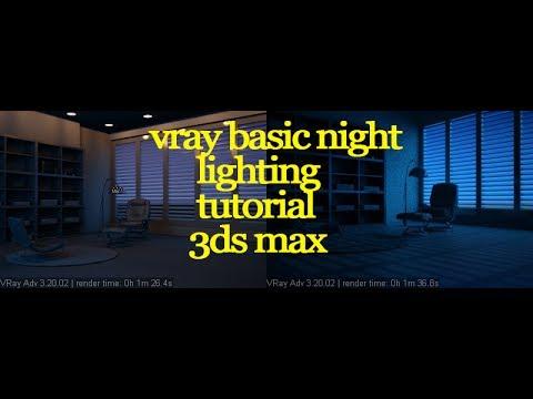 Vray interior lighting tutorial 3ds max vray night for 3d max vray interior lighting tutorial
