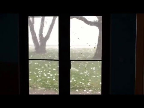 Thumbnail: Hail Storm Wylie Texas April 11 2016 - Waterbrook