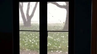 Hail Storm Wylie Texas April 11 2016 - Waterbrook