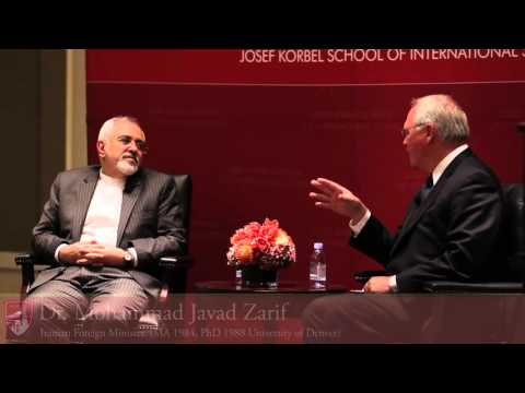 A Conversation with University of Denver Alumnus and Iranian Foreign Minister Mohammad Javad Zarif
