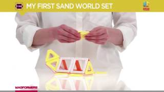 конструктор Magformers My First Sand World Set 702010 обзор