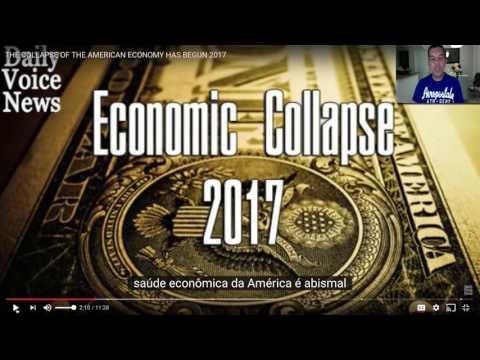 Apertem o Cinto: A Economia Americana esta caindo!