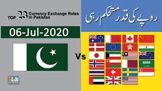 Dollar Rate Today | 06-Jul-2020 | Forex  Exchange Rates Today | Dollar To PKR | FBTV Markets