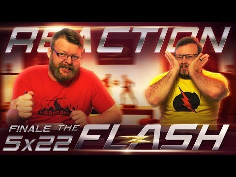 """The Flash 5x22 FINALE REACTION!! """"Legacy"""""""