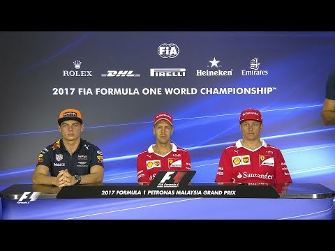 2017 Malaysian Grand Prix | Pre-Race Press Conference