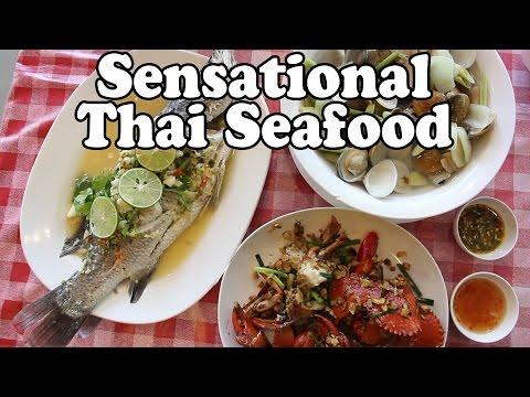 Phuket Seafood: Sensational Thai Food at a Rawai Seafood Market Restaurant in Phuket Thailand Vlog