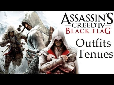 Assassin S Creed 4 Black Flag Outfits Ezio Altair Connor