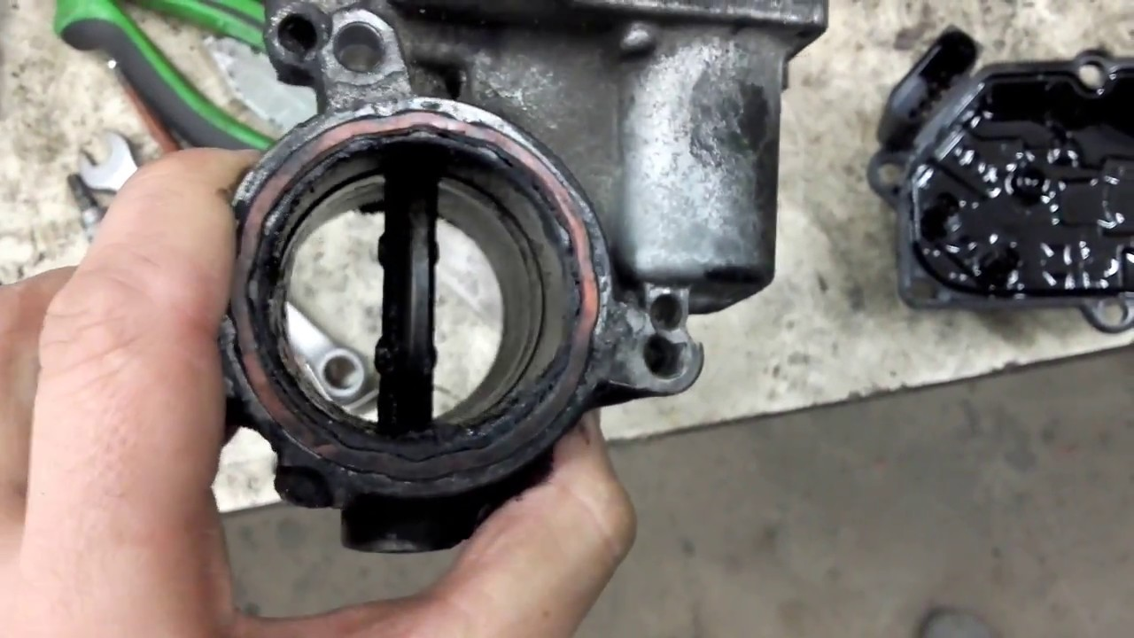 VW B6 Throttle Body Problems / Error Code - YouTube