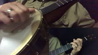 Country Roads Clawhammer Banjo Lesson, Part 3