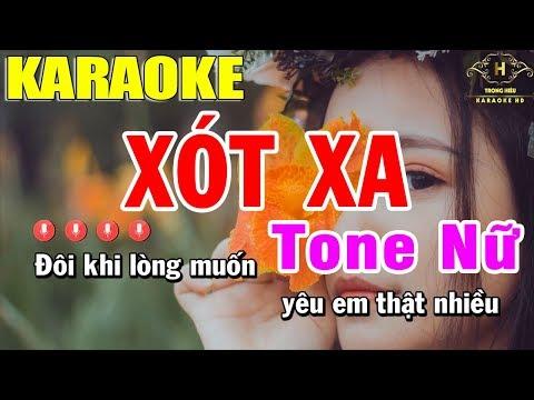 karaoke-xót-xa-tone-nữ-nhạc-sống-|-trọng-hiếu