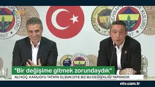 Ali Koç'tan transfer müjdesi