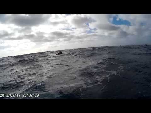 Cook Strait Jet Ski Crossing May 2015