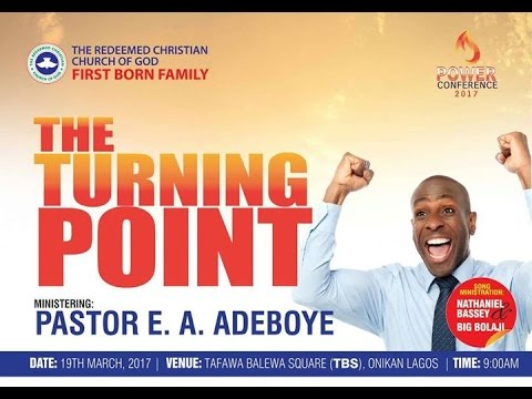 FIRST BORN FAMILY POWER CONFERENCE 2017 - THE TURNING POINT