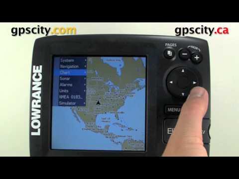 Lowrance Elite 5 DSI Video Manual - Adjusting GPS Heading Settings