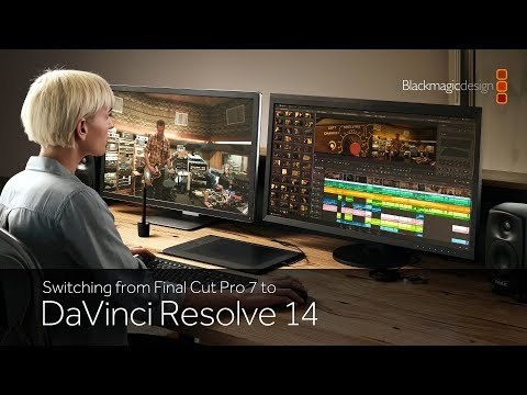 Switching from Final Cut Pro 7 to DaVinci Resolve