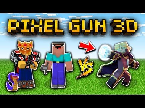 10 Types of PG3D Players! (Pixel Gun 3D)