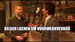 Belgen lachen zich rot om Rotterdams vuurwerkverbod