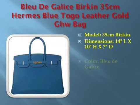 Authentic Hermes Birkin Bag Price 35cm,Togo