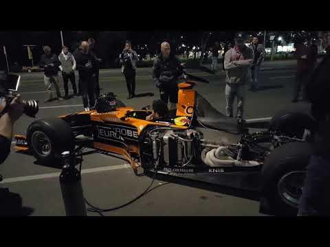 Formula 1 cars in Adelaide 27 September 2017 HD