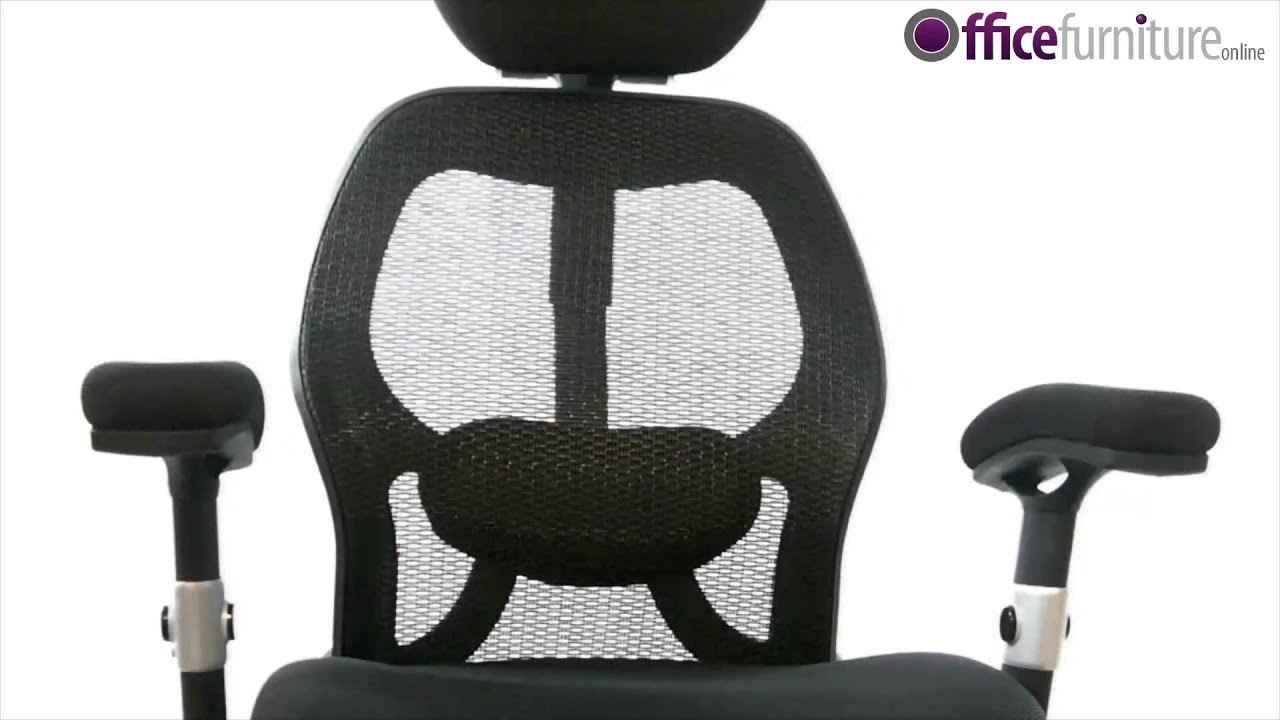Ergo Tek Mesh Manager Chair Features Youtube