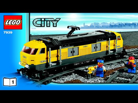 Lego Cargo Train 7939 Instruction Booklet Full Download
