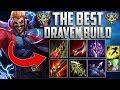 BEST DRAVEN BUILD SEASON 7 | WIN EVERY GAME | Better than tyler1 draven build