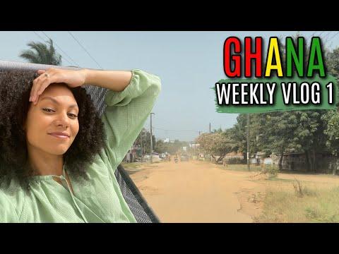 MY FIRST WEEK LIVING IN ACCRA, GHANA | WEEKLY VLOG 1