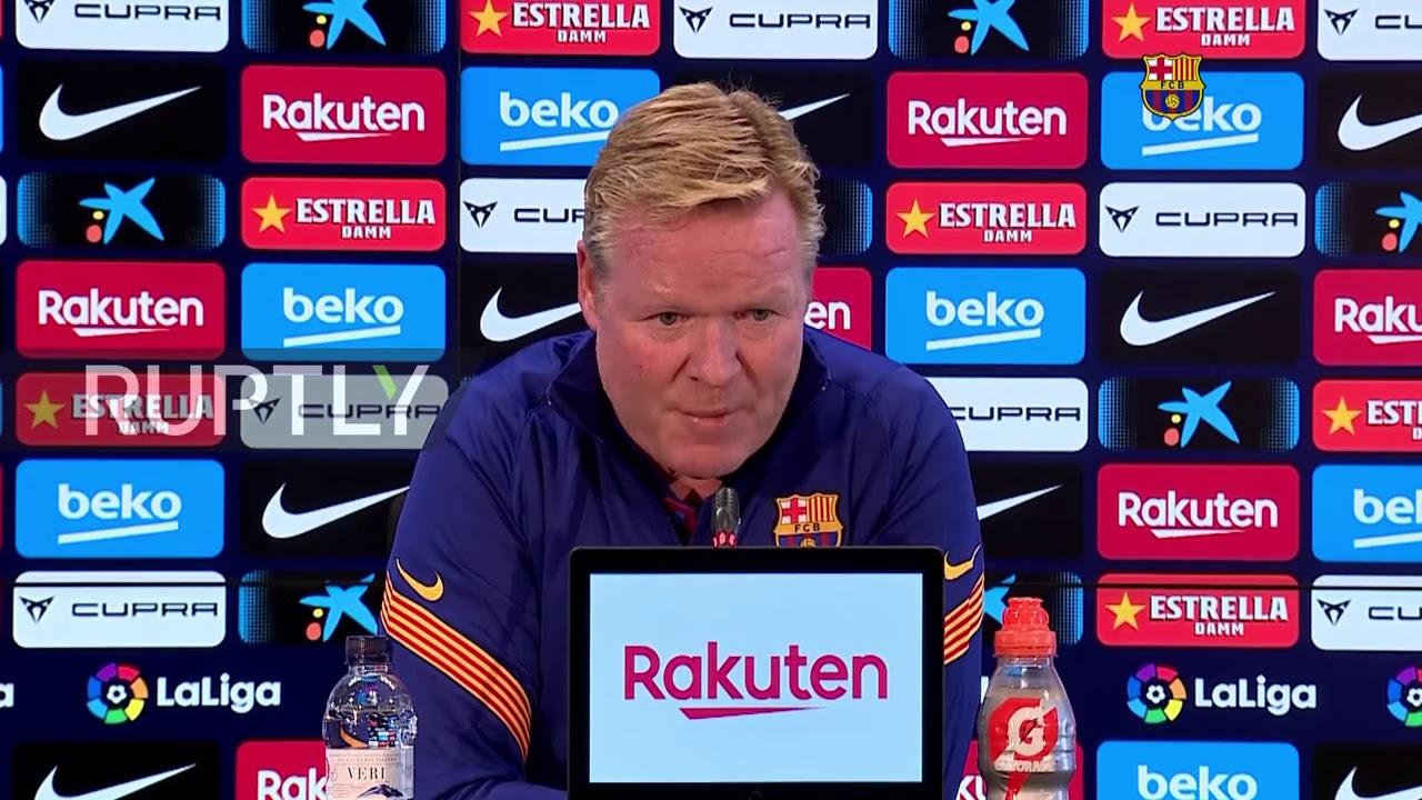 Download Barca coach Koeman speaks on Suarez departure
