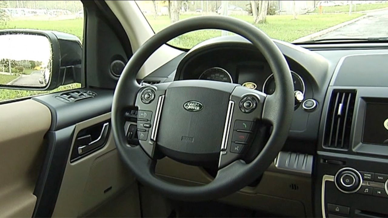 Range Rover Suv >> 2013 Land Rover Freelander 2 eD4 - INTERIOR - YouTube