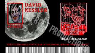 Killing Frost Productions Custom Scare Badges An American Werewolf in London Series #7