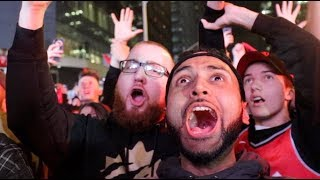 Raptors fans react to winning the NBA Championship for the first time