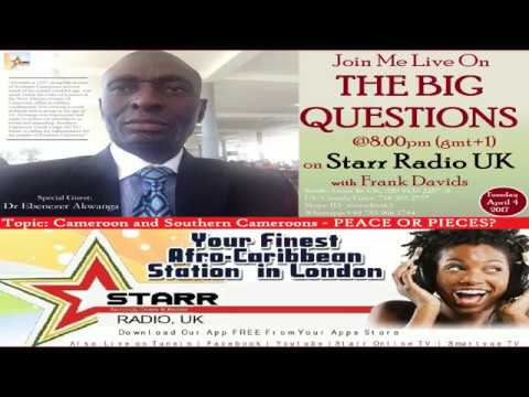 Special Guest Dr Ebenezer Akwanga-The Big Questions with Frank Davids