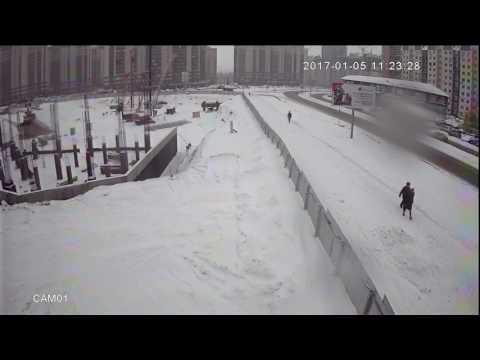 Воронеж  ДТП  Занесло ул  Шишкова 107б