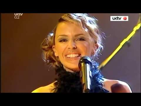 Kylie Minogue - Come Into My World (Live Jonathan Ross Show 01-11-2002)