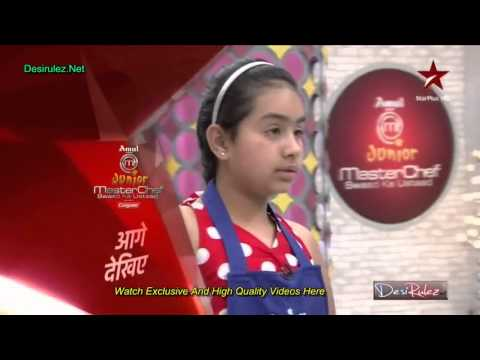 Junior Master Chef 7th September 2013 p2 clip1