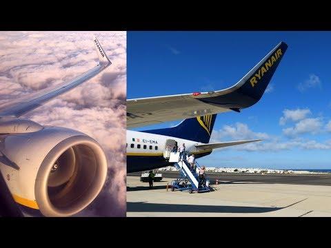 Ryanair Boeing 737-800 to Lanzarote Arrecife Airport