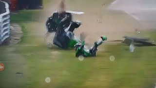 Zx10r accident