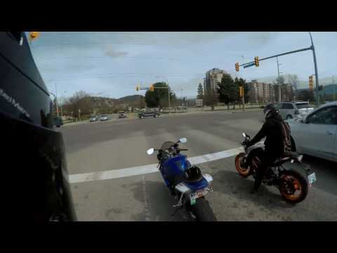 Cleaning the Streets of Kelowna - GSXR 600