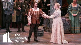 "Joshua Hopkins as Valentin sings ""Avant de quitter ces lieux"" in WNO's Faust  