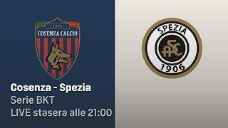 Cosenza - Spezia Live Streaming 3D con Chat