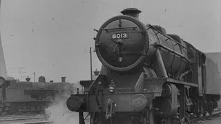 Trains: Building A Steam Locomotive - 1941 - CharlieDeanArchives / British Council Archival Footage