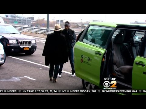 CBS2 Exclusive: Undercover With TLC On Sting Targeting Illegal Taxis At Airports