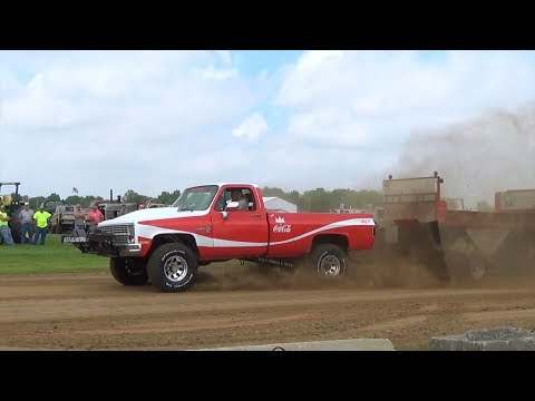 Central Illinois Truck Pullers - 2017 St. Rose, IL Truck Pulls