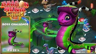 New Boss Challenge + Jungle Dragon Hatching!?, Dragon Mania Legends Gameplay Walkthrough Part 1458HD