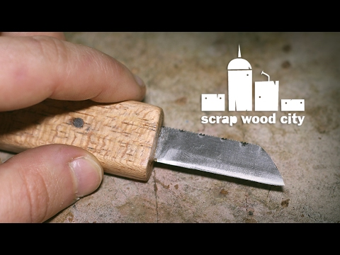 How to make a mini knife from a hacksaw blade youtube how to make a mini knife from a hacksaw blade greentooth Images